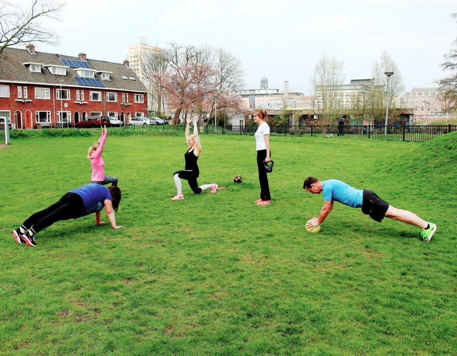 trening bootcamp lub trening personalny w Utrecht